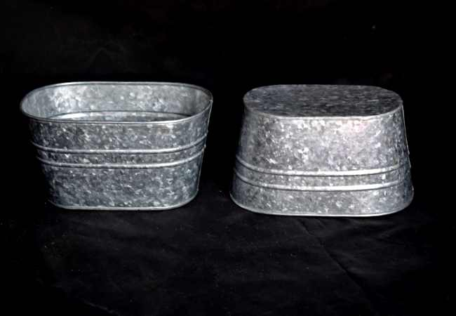 zinc planters wholesale manufacturer and supplier from India - Kone Crafts