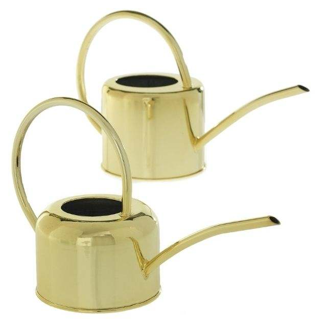 Henri Watering Can A beautiful gold watering can in 2 sizes